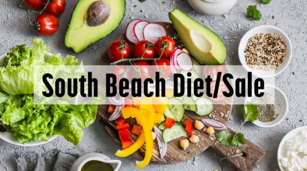 south beach diet/sale