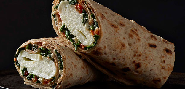 starbucks pinach egg white wrap