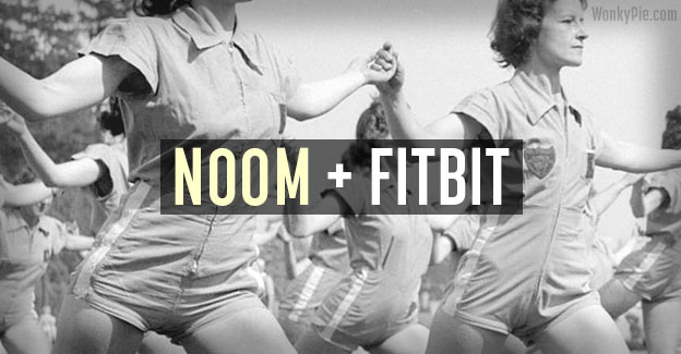 sync noom fitbit