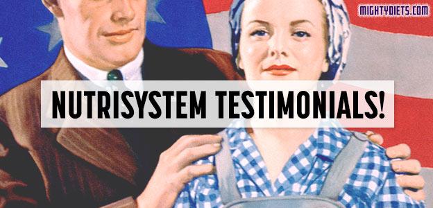 testimonials nutrisystem diet