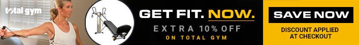 total gym promo banner