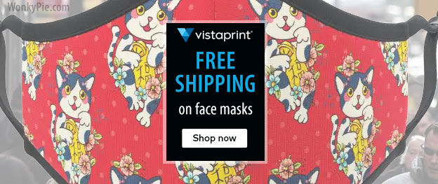 vistaprint face mask coupon