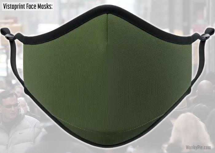 vistaprint face mask review