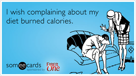 weight loss complaining