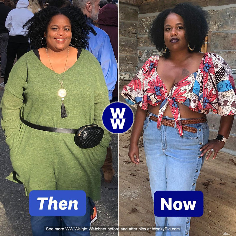 weight watchers before after results letisha