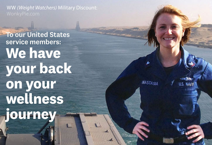 weight watchers military promo