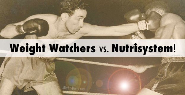 weight watchers vs nutrisystem