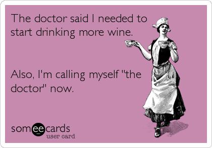 funny wine ecard
