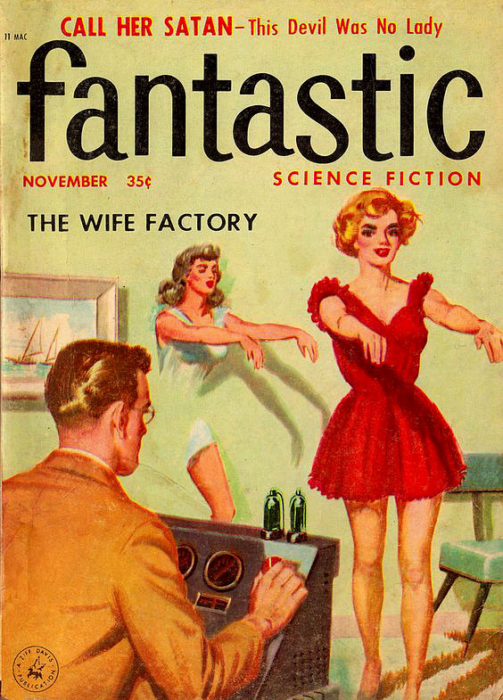 wife factory pulp cover funny