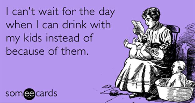 wine fat funny
