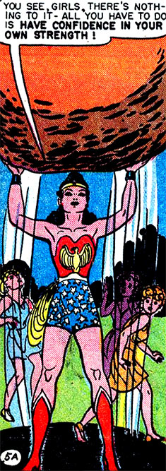wonder woman diet