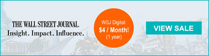 wsj featured subscription offer