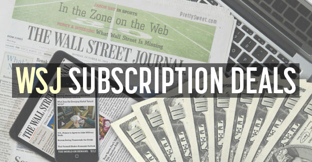 wsj subscription deals
