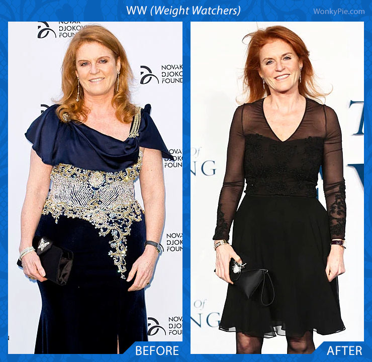 weight watchers sarah ferguson