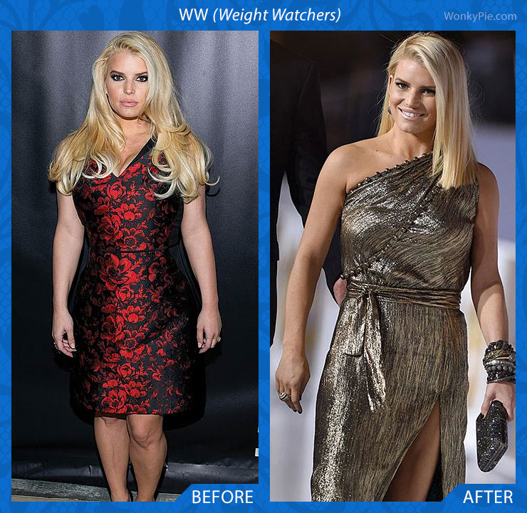 ww jessica simpson before after