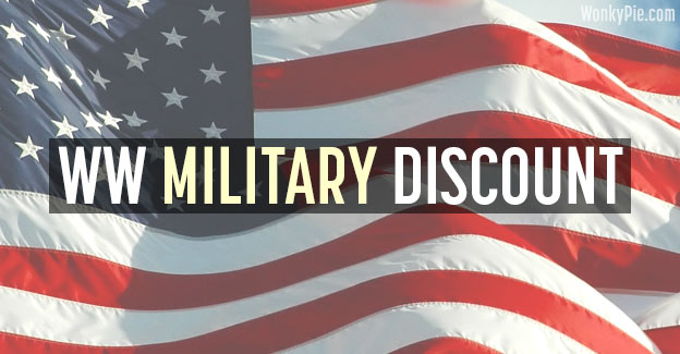weight watchers military discount