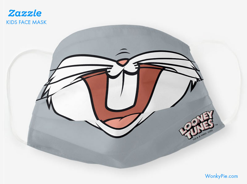 zazzle kids mask bugs bunny