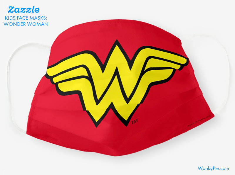 kids mask wonder woman