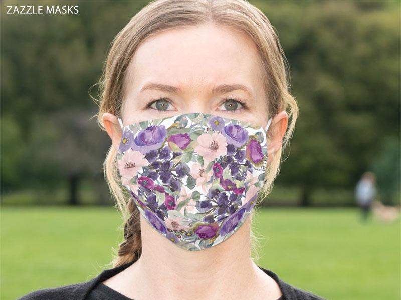 zazzle mask woman
